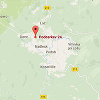 map podcerkev